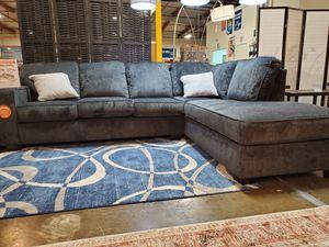 Stylish Sectional Sofa, Slate for Sale in Santa Ana, CA