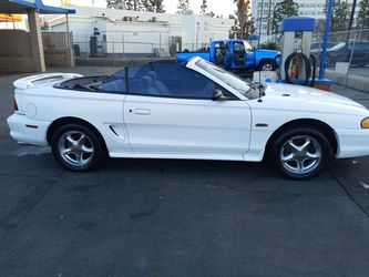 1996 Gt Mustang v8 Convertible 5speed Stick for Sale in Torrance,  CA