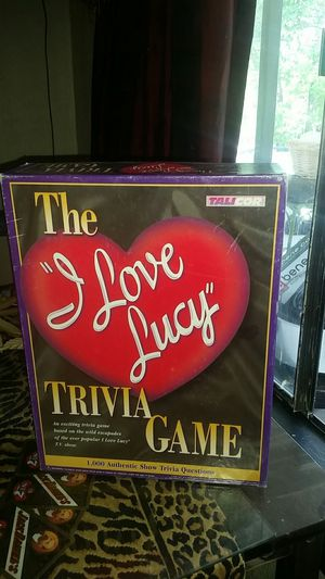 Talicor i love lucy trivia board game for Sale in Oklahoma City, OK
