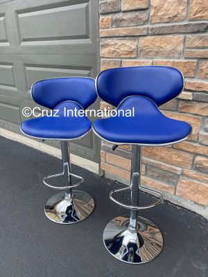 New 2 blue stools for Sale in Orlando, FL