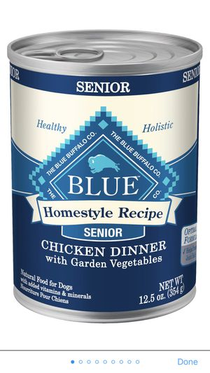Blue Buffalo chicken dinner For Dogs (15 12.50z cans) for Sale in Hialeah, FL