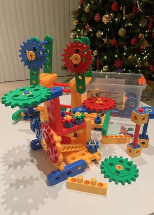 NEW IN BOX $15 each 121 pcs IQ Builder Stem Building Engineering Learning Building Educational Toy Set for Sale in Whittier, CA