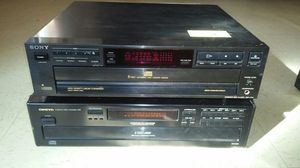 Sony 5 disc changer Onkyo 6 disc changer 35 a piece for Sale in McKenney, VA
