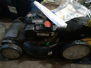 Self propelled Craftsman Push Mower at a very low cost!) for Sale in Dallas, TX