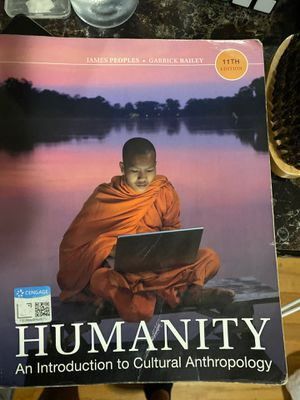 Humanity an introduction to cultural anthropology book. for Sale in Chicago, IL
