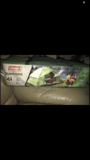 New never used Coleman 4 person tent for Sale in Havertown, PA