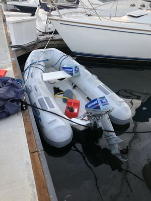 2001 9ft caribe inflatable rib dinghy for Sale in San Diego, CA