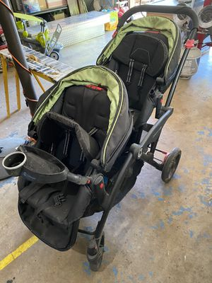 Contours Options Elite double stroller for Sale in Wichita, KS