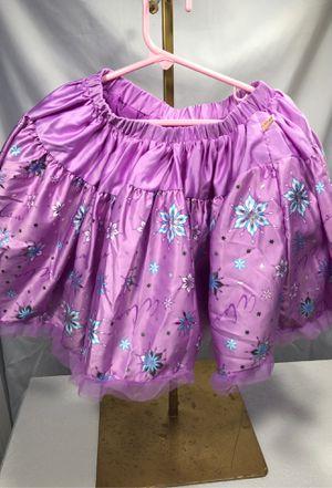 Disney Couture Frozen Elsa tutu skirt Halloween party 5-6 for Sale in Miami, FL