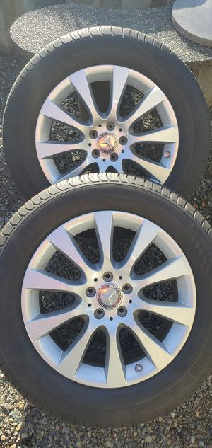 Mercedes benz wheels 255/55/R18 for Sale in Puyallup, WA