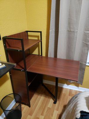 Desk and bookshelf. Convertible for Sale in Miami Gardens, FL