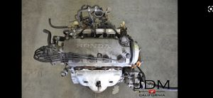 D16y7 and transmission in a 97 civic two door running with auto tranny parts car for Sale in Clovis, CA