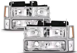 Obs Silverado 88-93 new headlights for Sale in Fresno, CA