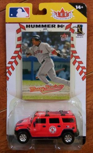 Manny Ramirez 2005 Fleer Collectible Hummer H2 w/Trading Card. for Sale in Alhambra, CA