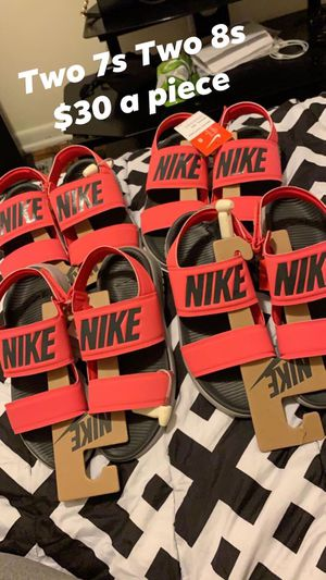 Nike sandles women for Sale in Columbus, OH
