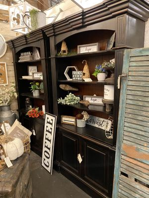 Black Bookcase- set of two! for Sale in Chandler, AZ