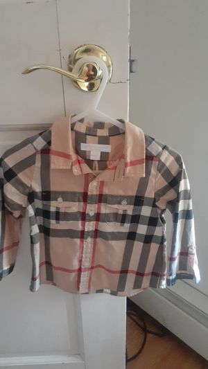 Burberry Button up (Authentic) for Sale in West Creek, NJ