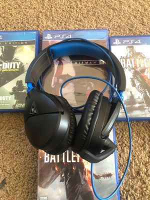 Turtle beach ps4 headset for Sale in Salem, OR