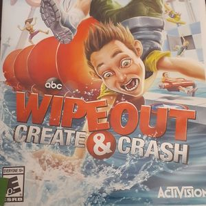ABC WIPEOUT Create & Crash (Nintendo Wii + Wii U) for Sale in Lewisville, TX