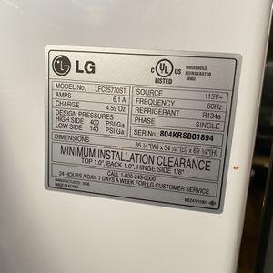 "LG Refrigerator 25cuft 36"" X 34"" X 70"" for Sale in Jacksonville, FL"