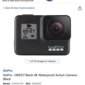 GoPro Hero 7 Black for Sale in Inkster, MI