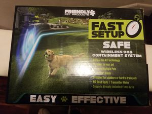 Wireless dog containment system for Sale in East Carbon, UT