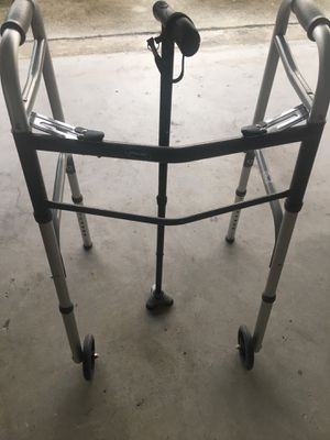 Adult walker never used and walk-in cain used for Sale in Boca Raton, FL
