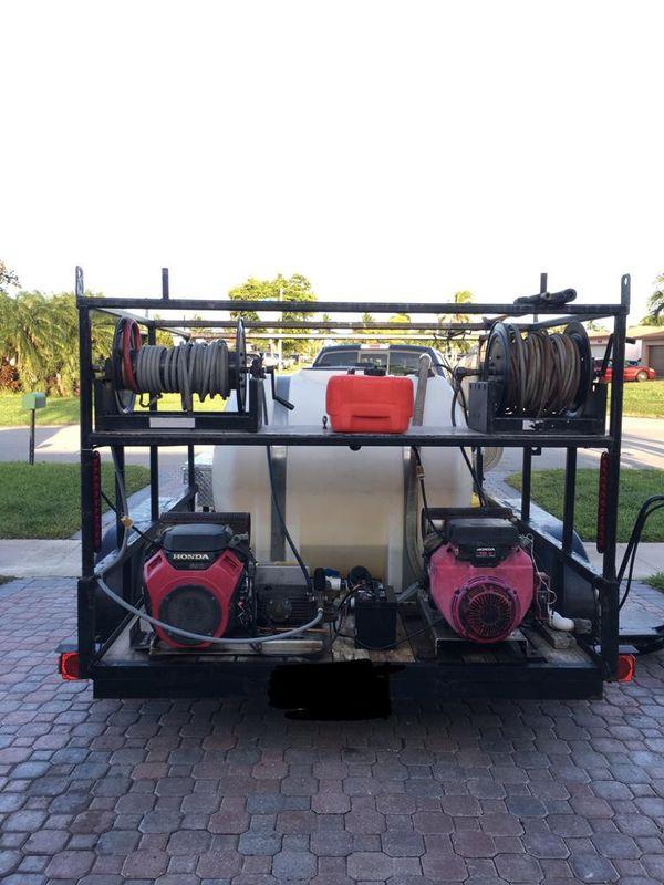 Commercial Power Washer Trailer!! MONEY MAKING TRAILER!