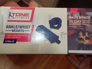 Ankle/wrist weights for Sale in Downey, CA