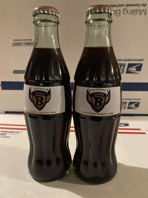 Baltimore Ravens Coke Bottles for Sale in Washington, DC
