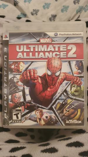 Marvel Ultimate Alliance 2 Ps3 Game for Sale in San Bernardino, CA