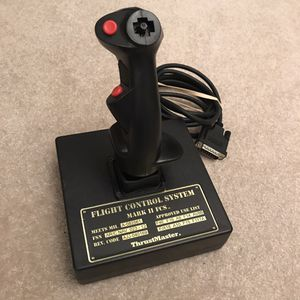 Computer pc joy stick for flight control system mark ii fcs thrustmaster RARE arcade stick laptop pc video games for Sale in Burtonsville, MD