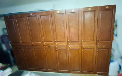 16x wood lockers / storage for Sale in Placentia,  CA