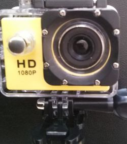 1080 Yellow Sports Action Camera for Sale in Oklahoma City,  OK