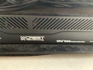Crest Dj speaker amp for Sale in Corona, CA