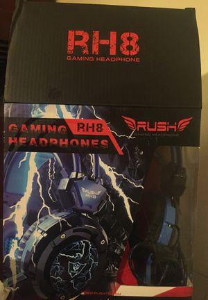 Rh8 gameing headset for Sale in Gaithersburg, MD