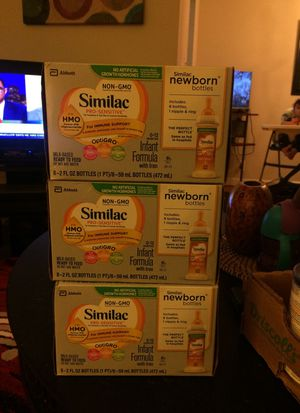 Similac pro sensitive . Milk based ready to feed , do not add water for Sale in Falls Church, VA
