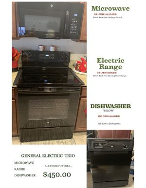 G E Trio - Stove, Microwave, Dishwasher for Sale in Zephyrhills, FL