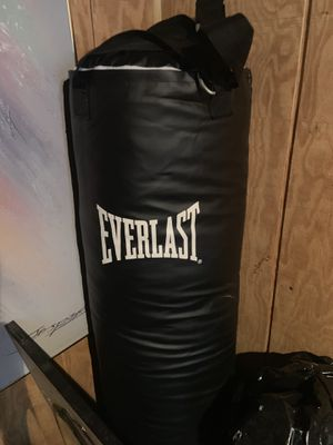 Everlast Polycanvas Heavy Bag for Sale in Oak Forest, IL