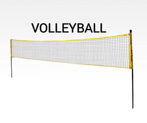 Volleyball Net w Steel Posts for Sale in Greenacres, FL