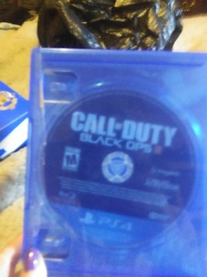 Ps4 game 🎮 like new call of duty black ops II for Sale in Murfreesboro, TN