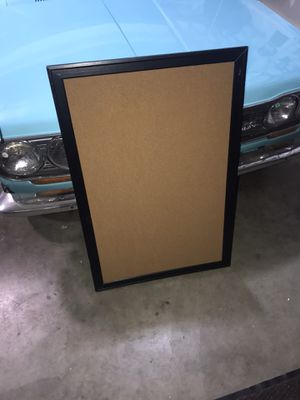 Cork Board 2'X3' Excellent Condition! for Sale in Banks, OR