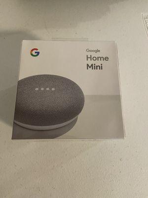 Google Home Mini Speaker New and unopened plus Chromecast for Sale in Alexandria, VA