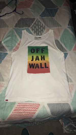 "Mens Vans ""Off Jah Wall"" Tank Top (large) for Sale in Woodfin, NC"
