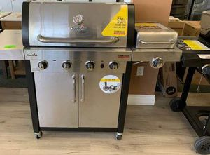 Brand New Stainless Steel Char-Broil BBQ Grill! QB00 for Sale in Spring, TX