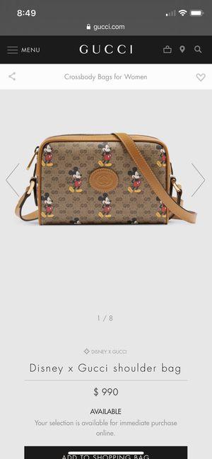 Disney Gucci shoulder bag for Sale in Fresno, CA