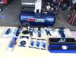 Brand new package deal compressor and air tools for Sale in Seffner, FL