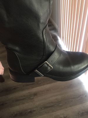 Black boots for Sale in Murrieta, CA