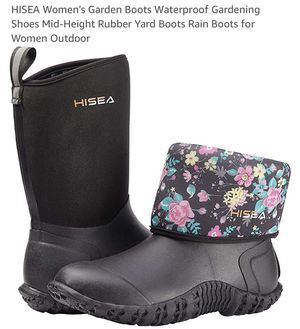 Rain & garden boots for Sale in Davenport, FL