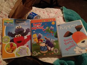 Three DVDs for 3mos to 10 mos for Sale in Pittsburg, CA